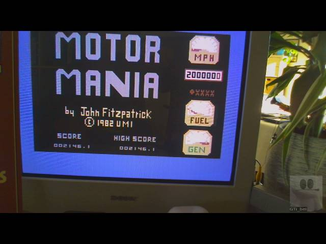 Motor Mania 2,146 points