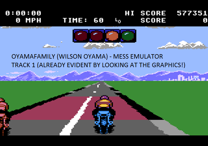 oyamafamily: Motor Psycho: Track 1 (Atari 7800 Emulated) 577,351 points on 2016-02-28 10:23:23