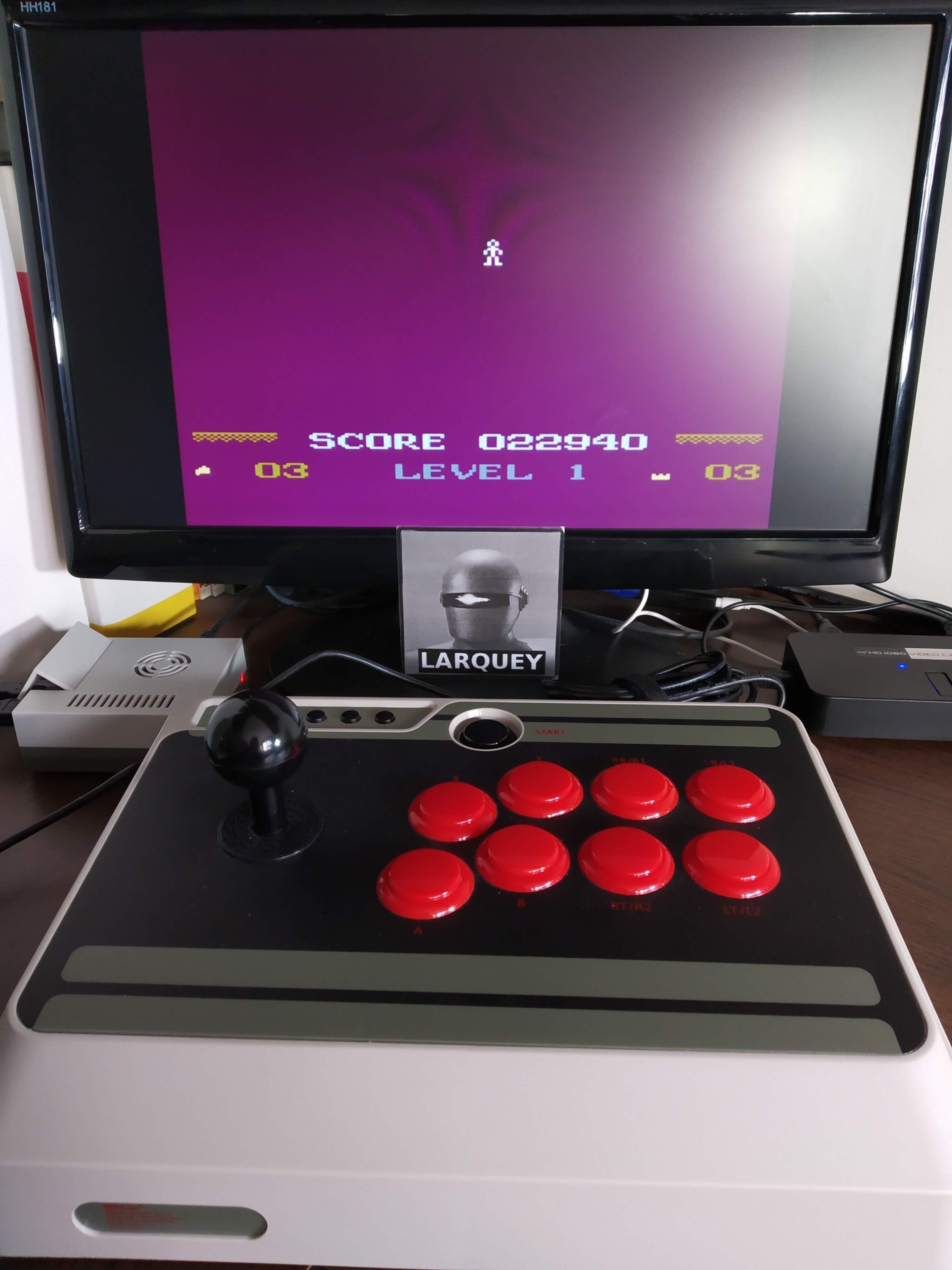 Larquey: Mountain King (Atari 5200 Emulated) 22,940 points on 2019-11-16 11:34:53