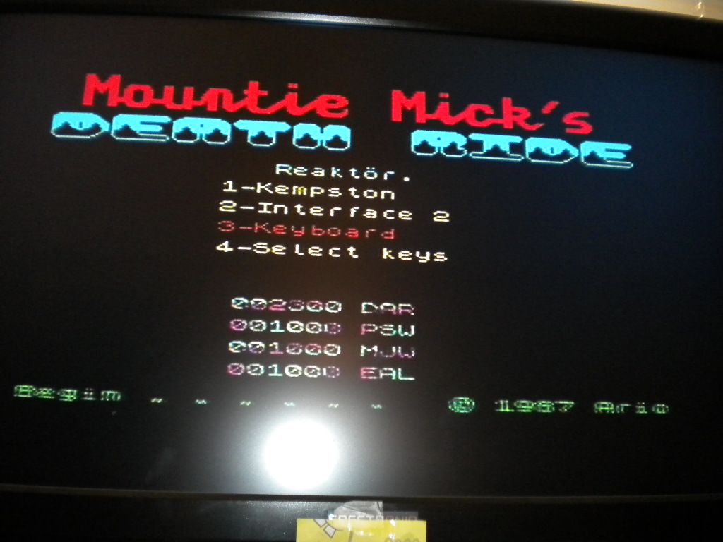 Mountie Mick`s Death Ride 2,300 points