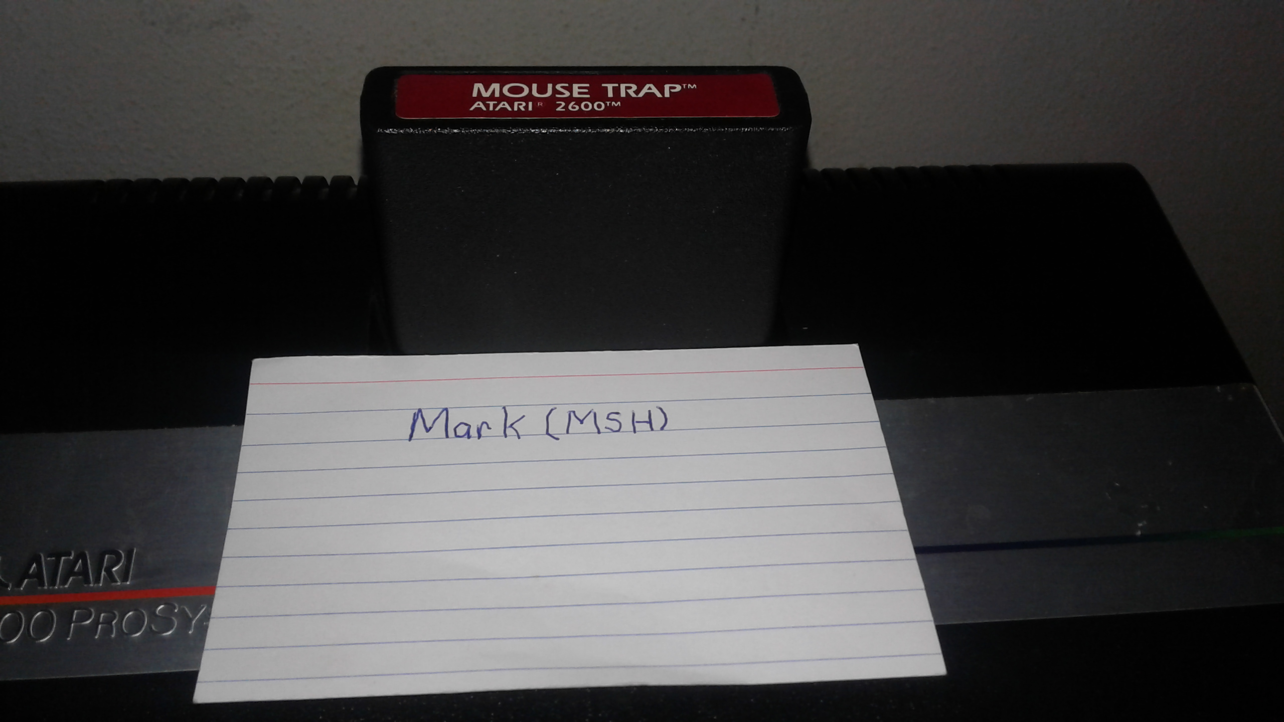 Mark: Mouse Trap (Atari 2600 Novice/B) 8,265 points on 2019-03-06 01:35:56