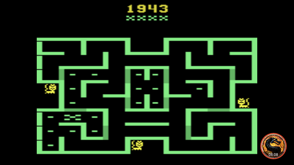 omargeddon: Mouse Trap (Atari 2600 Emulated Novice/B Mode) 1,943 points on 2019-11-17 00:55:17