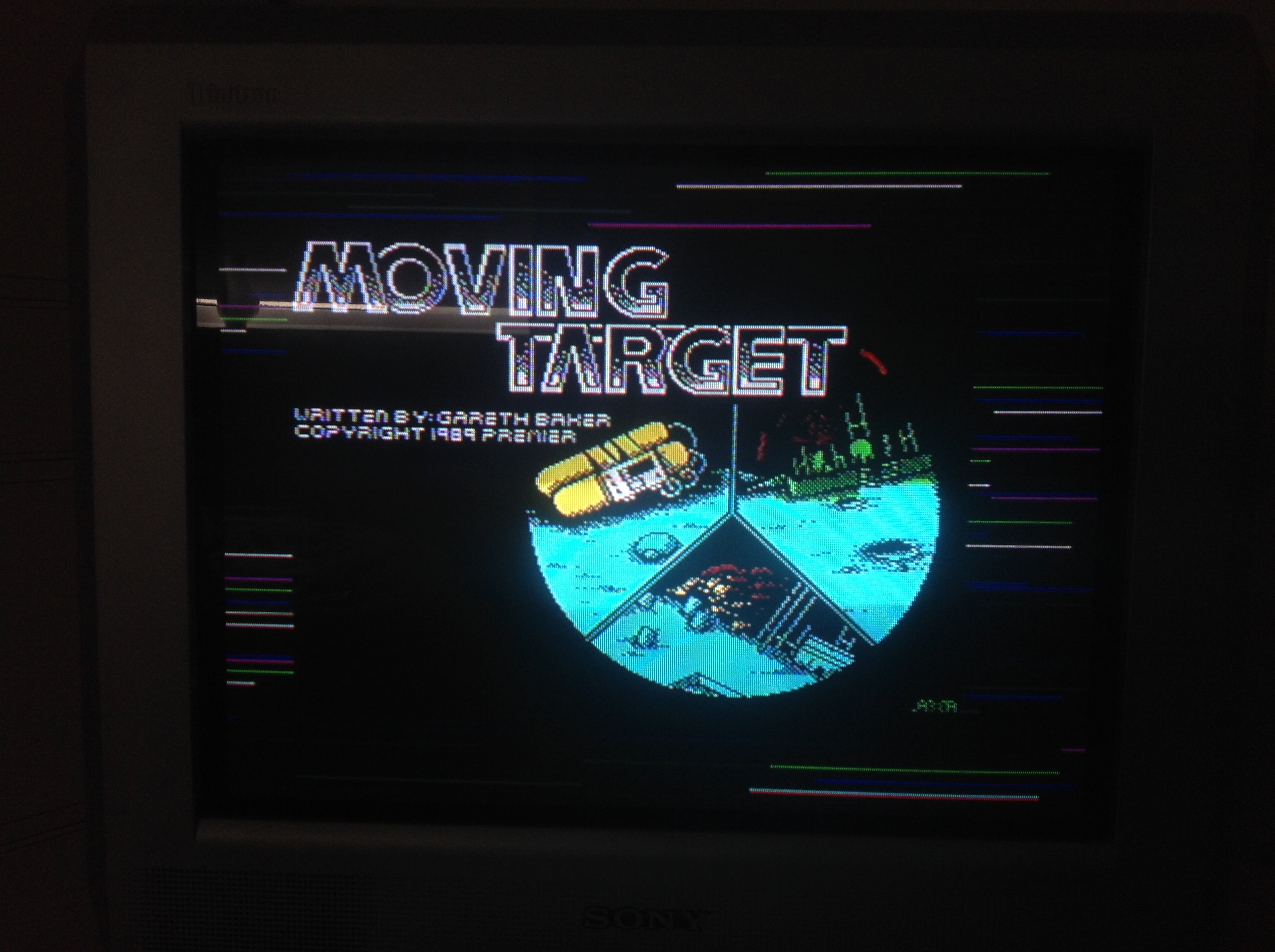 CoCoForest: Moving Target (ZX Spectrum) 7,290 points on 2016-01-12 07:52:03