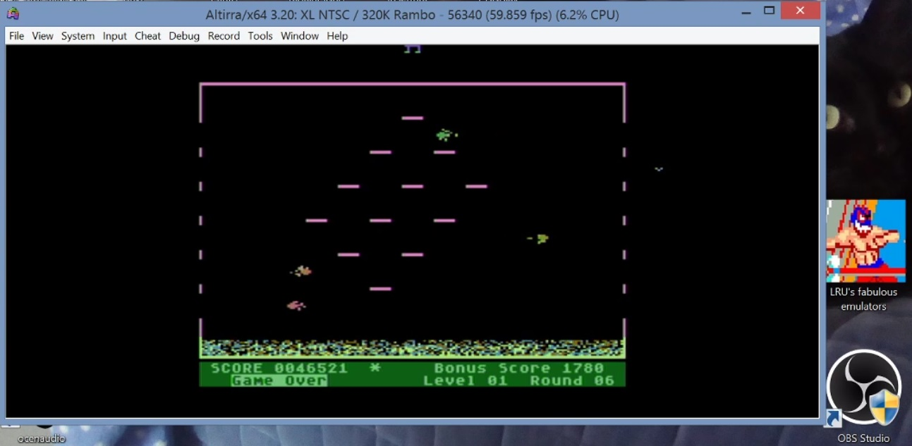 LuigiRuffolo: Mr. Cool (Atari 400/800/XL/XE Emulated) 46,521 points on 2021-01-05 17:07:42