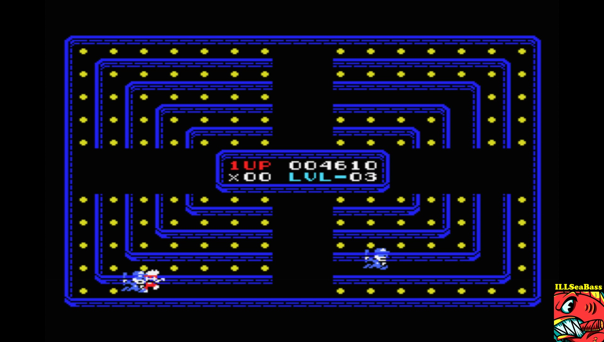 ILLSeaBass: Mr. Cracksman (Arcade) (MSX Emulated) 4,610 points on 2017-08-17 21:36:41
