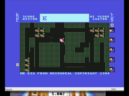 S.BAZ: Mr. Dig: Extremely Hard (Commodore 64 Emulated) 23,700 points on 2016-05-29 23:08:31