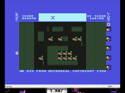 S.BAZ: Mr. Dig: Fairly Hard (Commodore 64 Emulated) 48,550 points on 2016-06-05 21:04:58