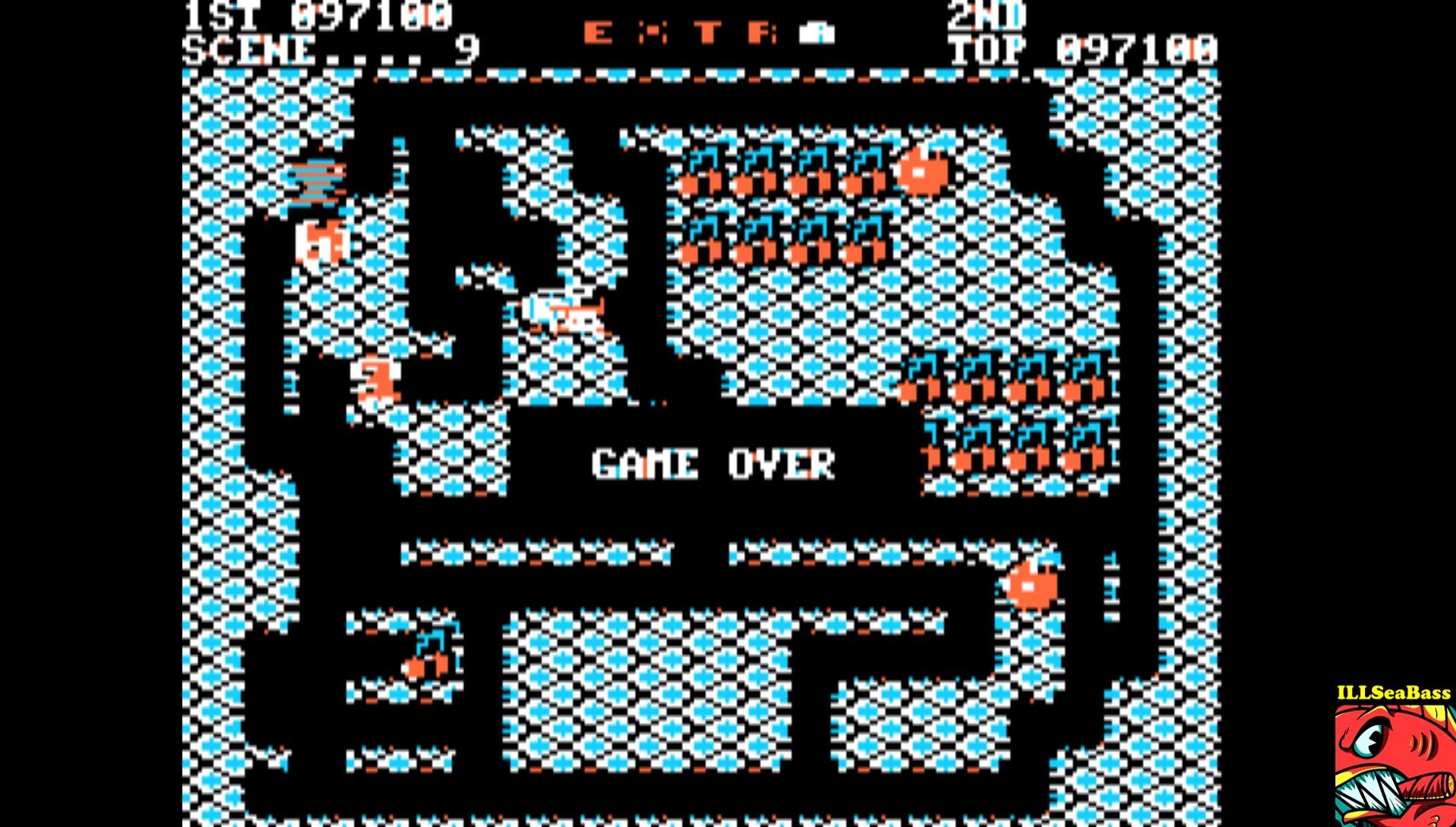 ILLSeaBass: Mr. Do! (Apple II Emulated) 97,100 points on 2017-02-21 13:55:40
