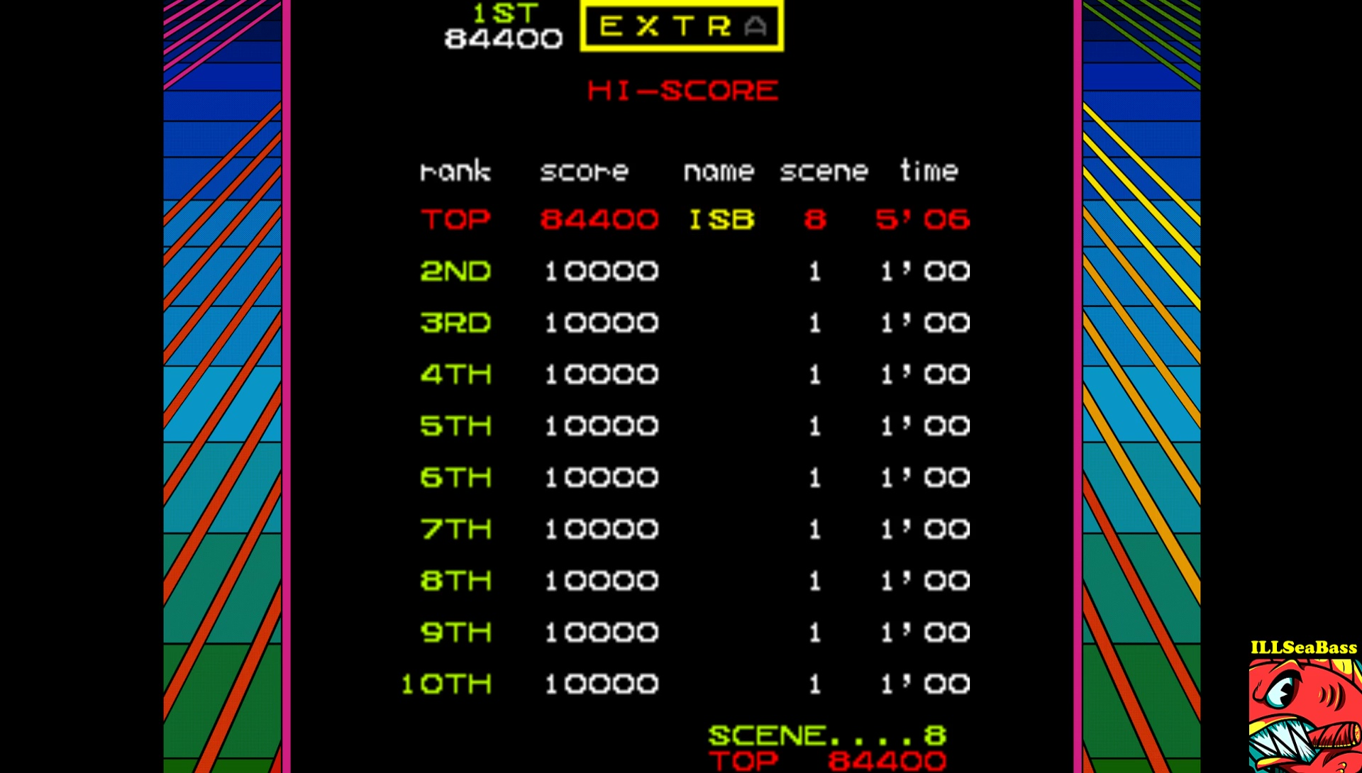 ILLSeaBass: Mr. Do (Arcade Emulated / M.A.M.E.) 84,400 points on 2017-04-14 00:11:10
