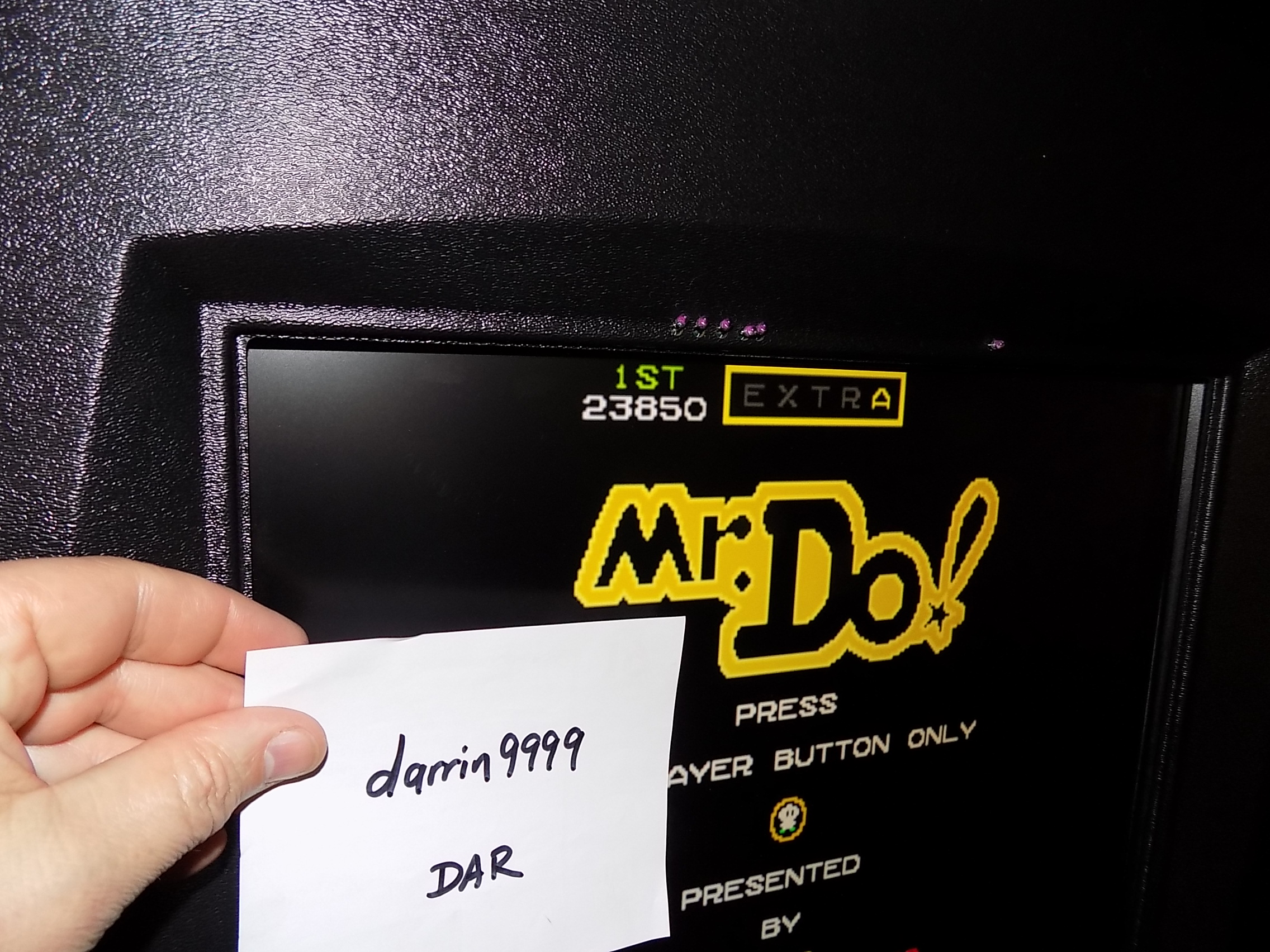 darrin9999: Mr. Do (Arcade Emulated / M.A.M.E.) 23,850 points on 2018-08-21 16:57:36