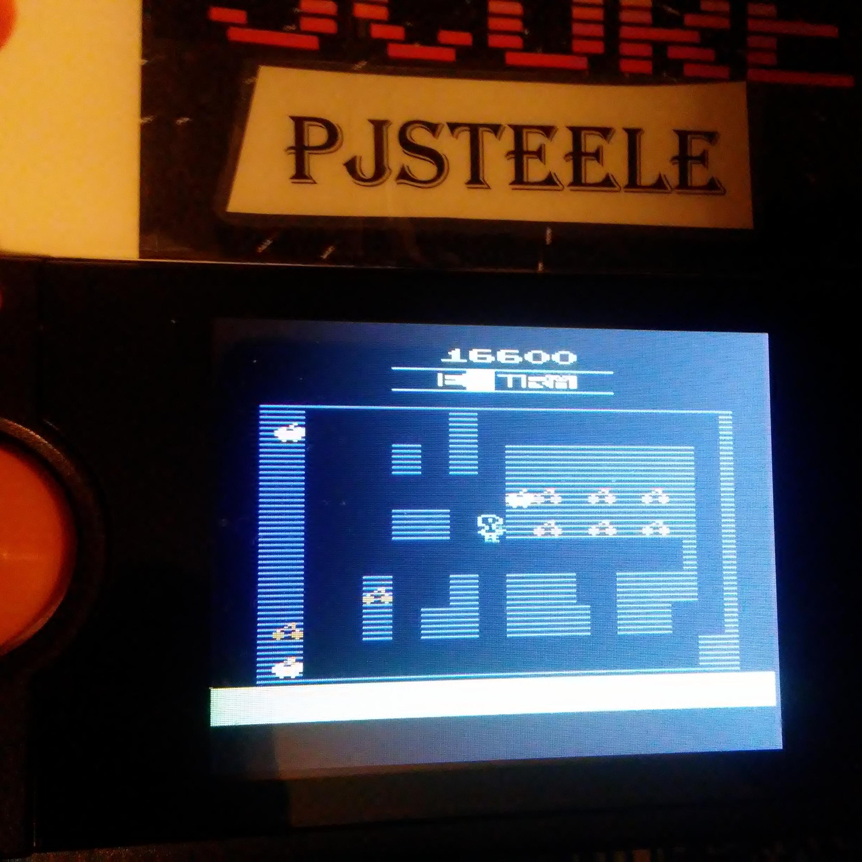 Pjsteele: Mr. Do! (Atari 2600 Emulated) 16,600 points on 2018-03-01 20:36:47