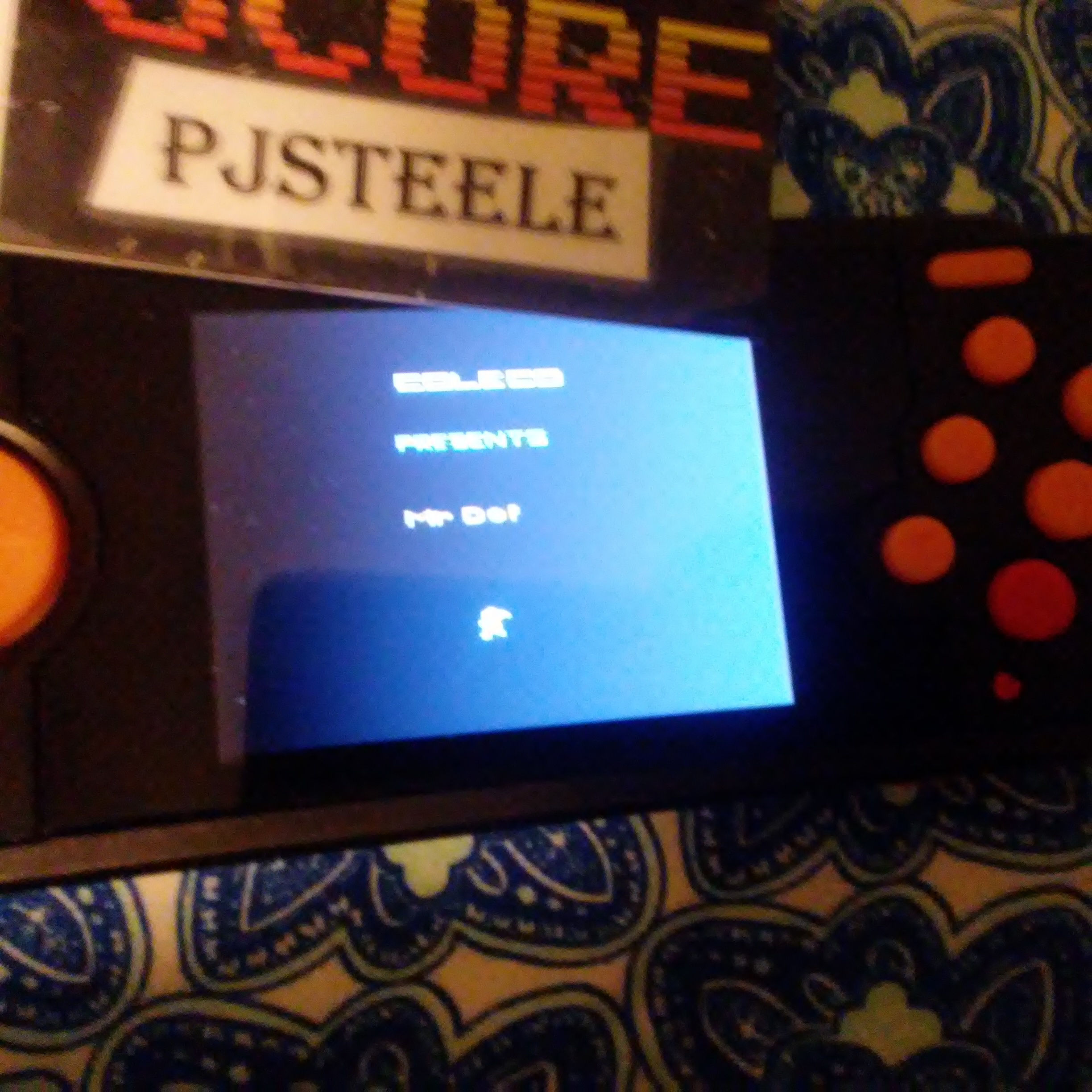 Pjsteele: Mr. Do! (Atari 2600 Emulated) 16,600 points on 2018-03-01 20:36:47