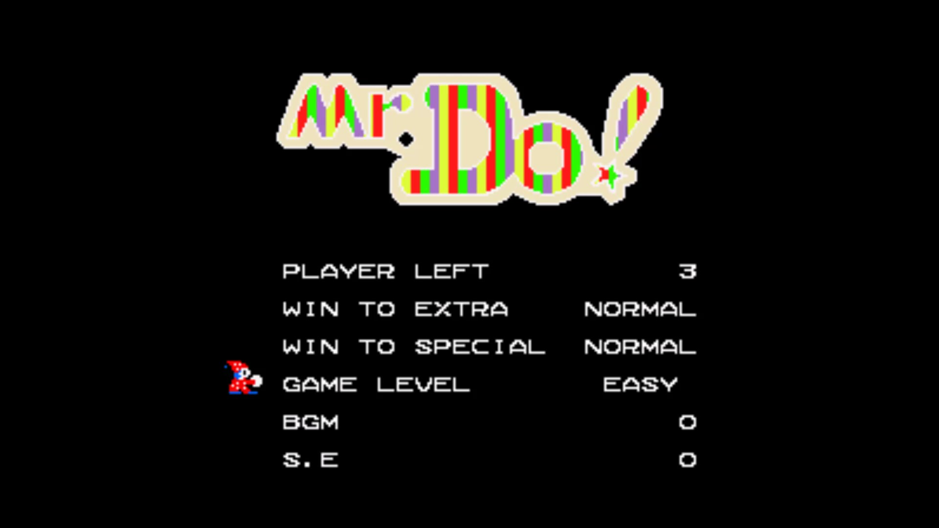 Mr. Do! [Easy] 25,850 points
