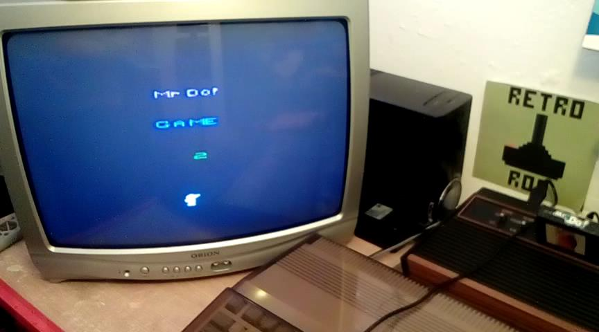 RetroRob: Mr. Do!: Game 2 (Atari 2600) 53,050 points on 2020-02-16 13:48:33