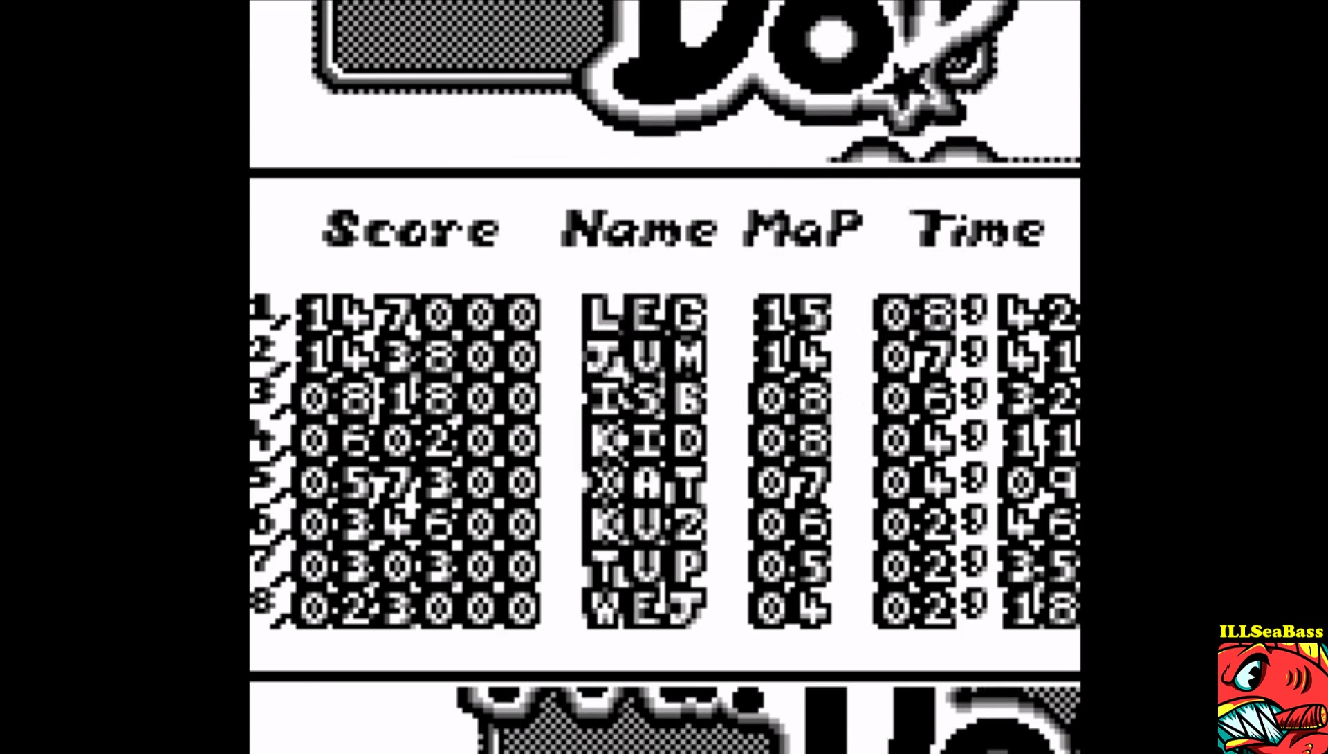 ILLSeaBass: Mr. Do! (Game Boy Emulated) 81,800 points on 2017-04-23 03:11:23