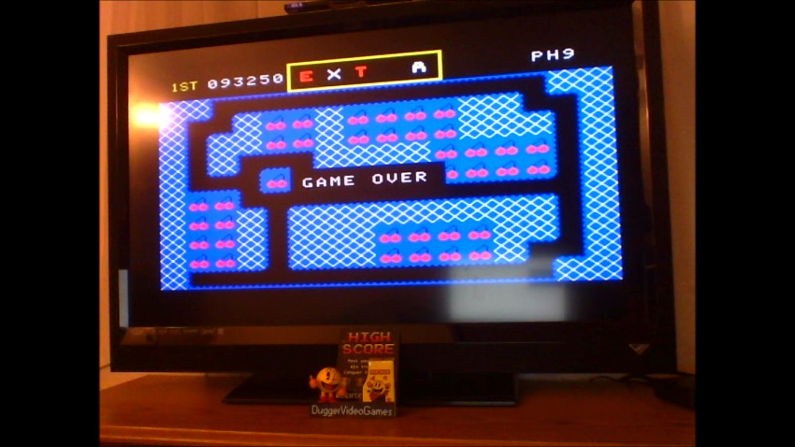 DuggerVideoGames: Mr. Do!: Skill 3 (Colecovision Emulated) 93,250 points on 2016-11-18 02:41:45