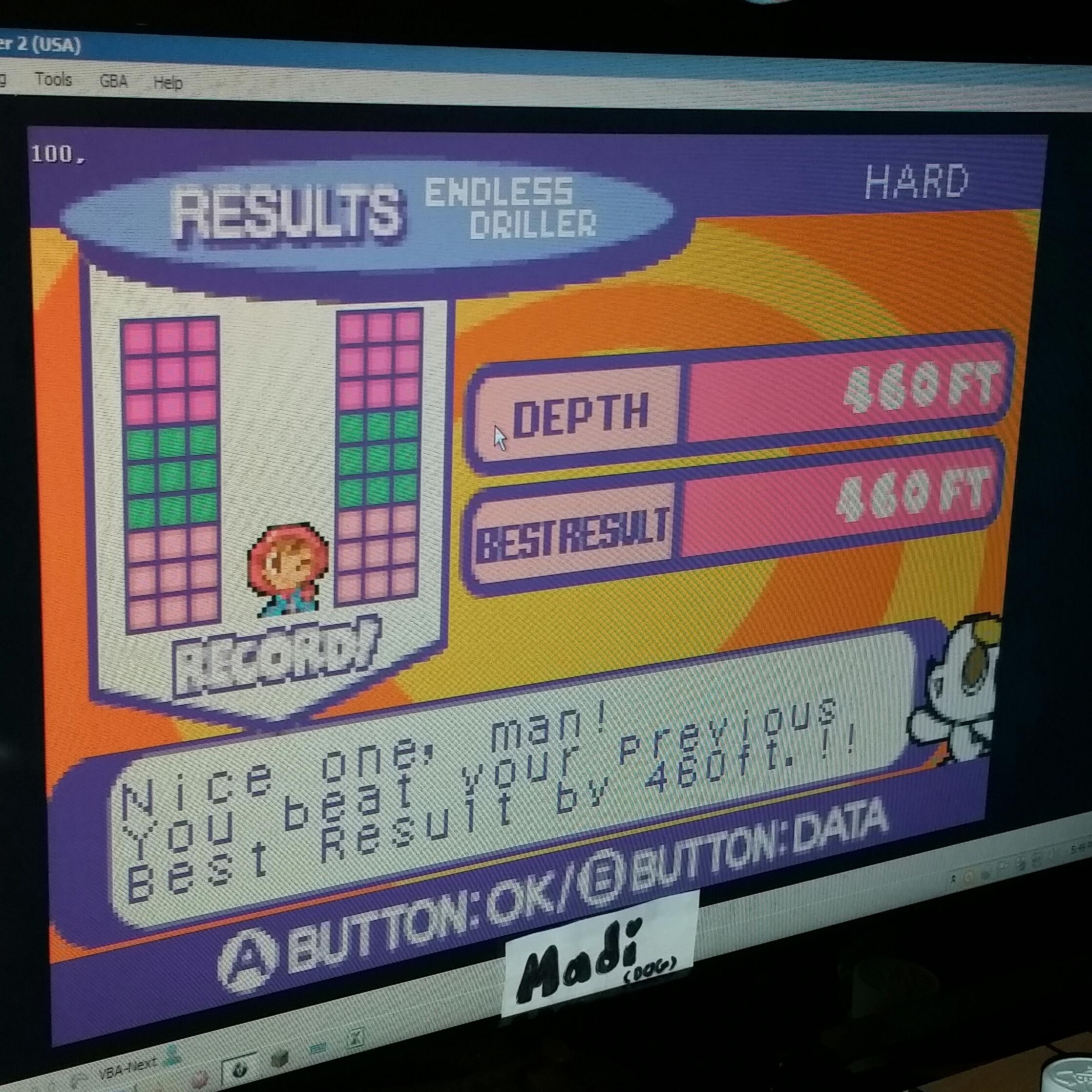Mr. Driller 2 [US]: Endless: Hard 460 points