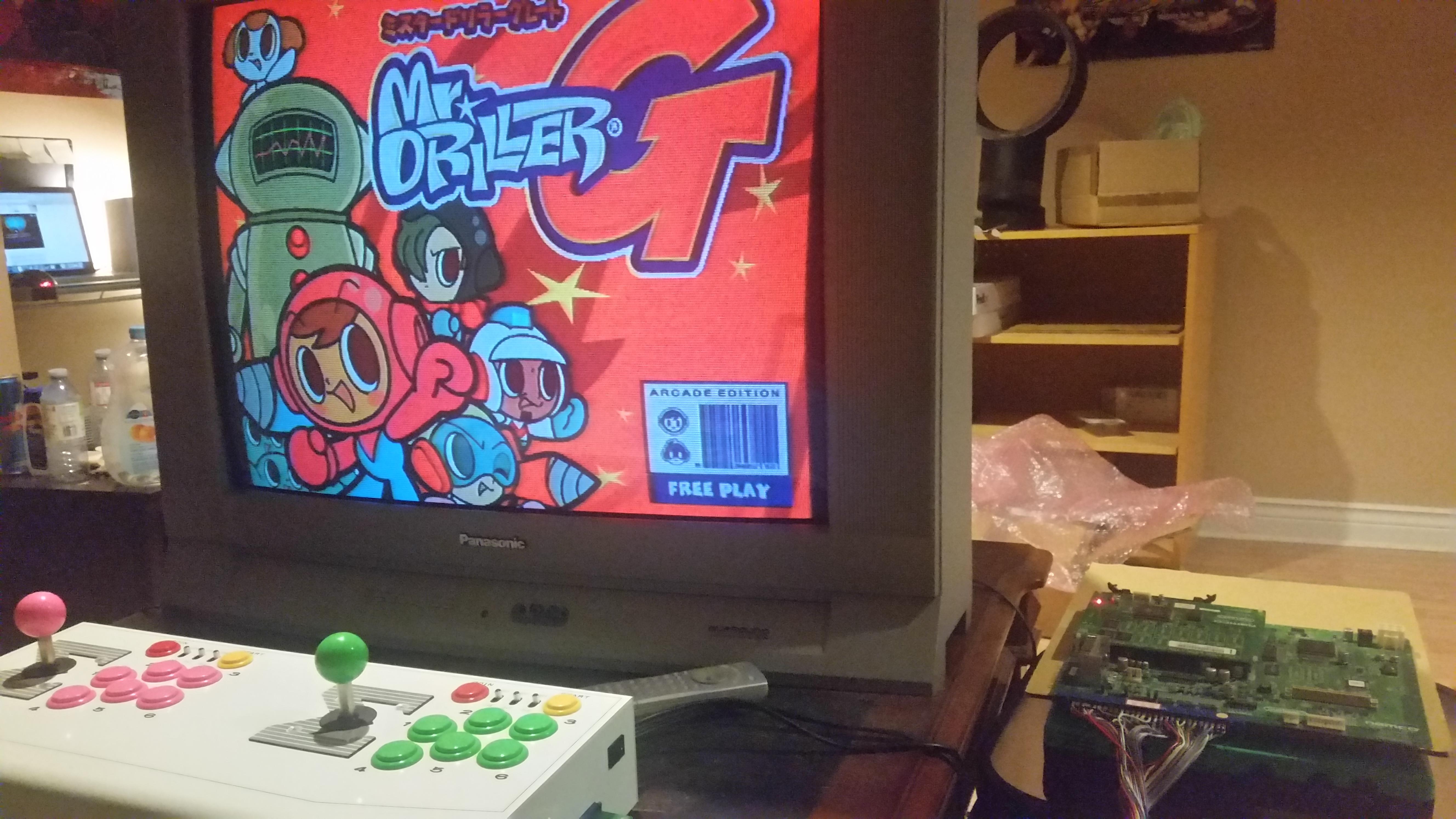 ScoobertDoobert: Mr. Driller G (Arcade) 2,000,275 points on 2017-09-07 16:18:14