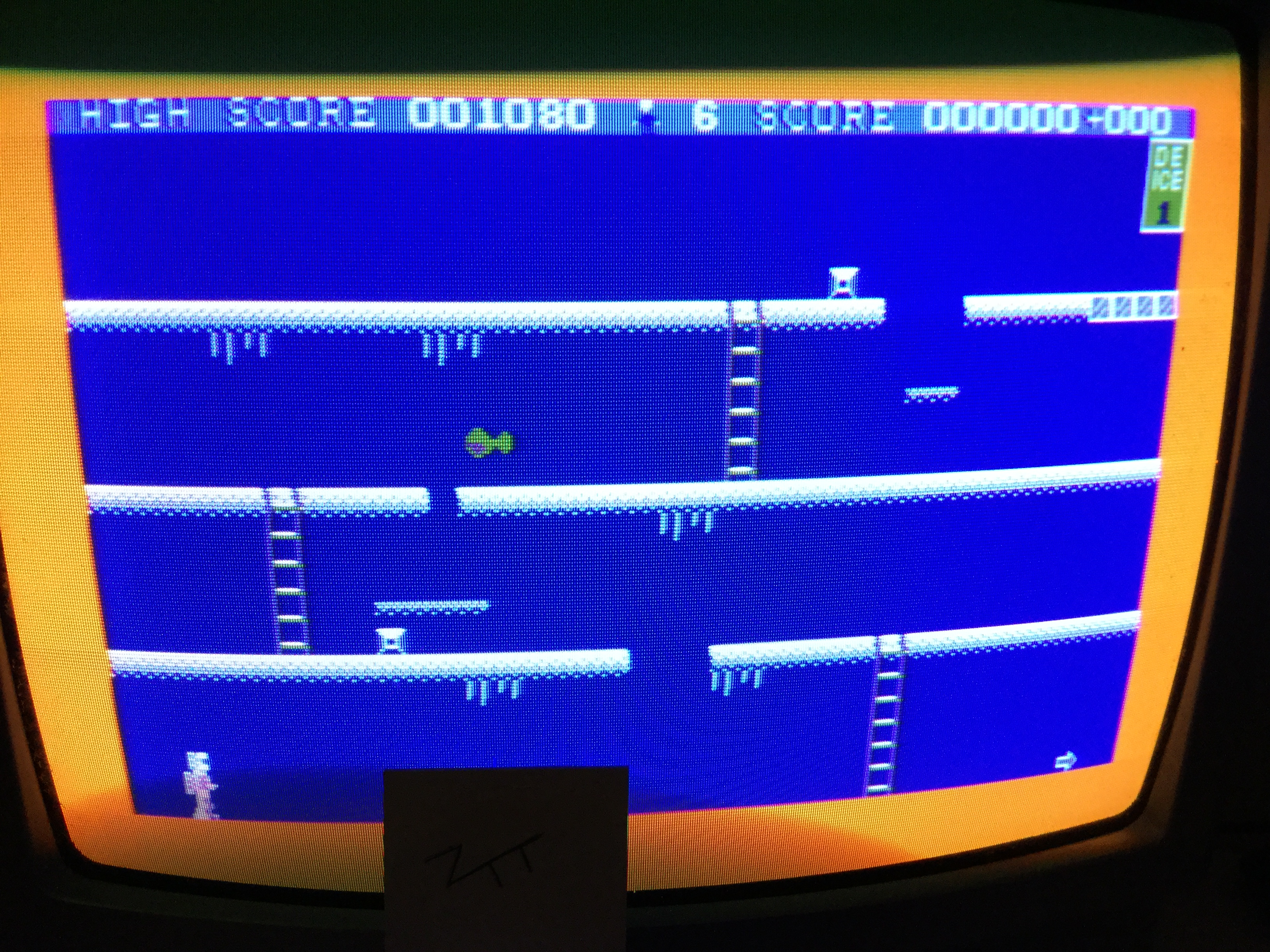 Frankie: Mr. Freeze (Amstrad CPC) 1,080 points on 2017-02-26 11:47:17