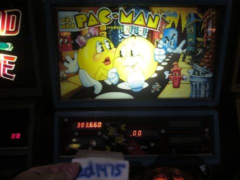 ed1475: Mr. & Mrs. Pac-Man (Pinball: 3 Balls) 383,660 points on 2019-07-14 13:03:37