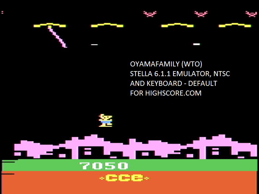 oyamafamily: Mr. Postman (Atari 2600 Emulated) 7,050 points on 2020-05-23 19:28:39