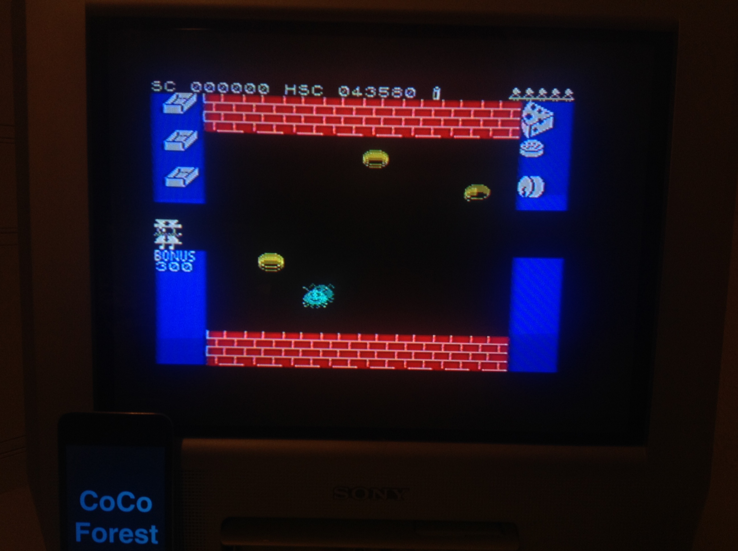 CoCoForest: Mr. Wimpy (ZX Spectrum) 43,580 points on 2016-01-11 10:50:28
