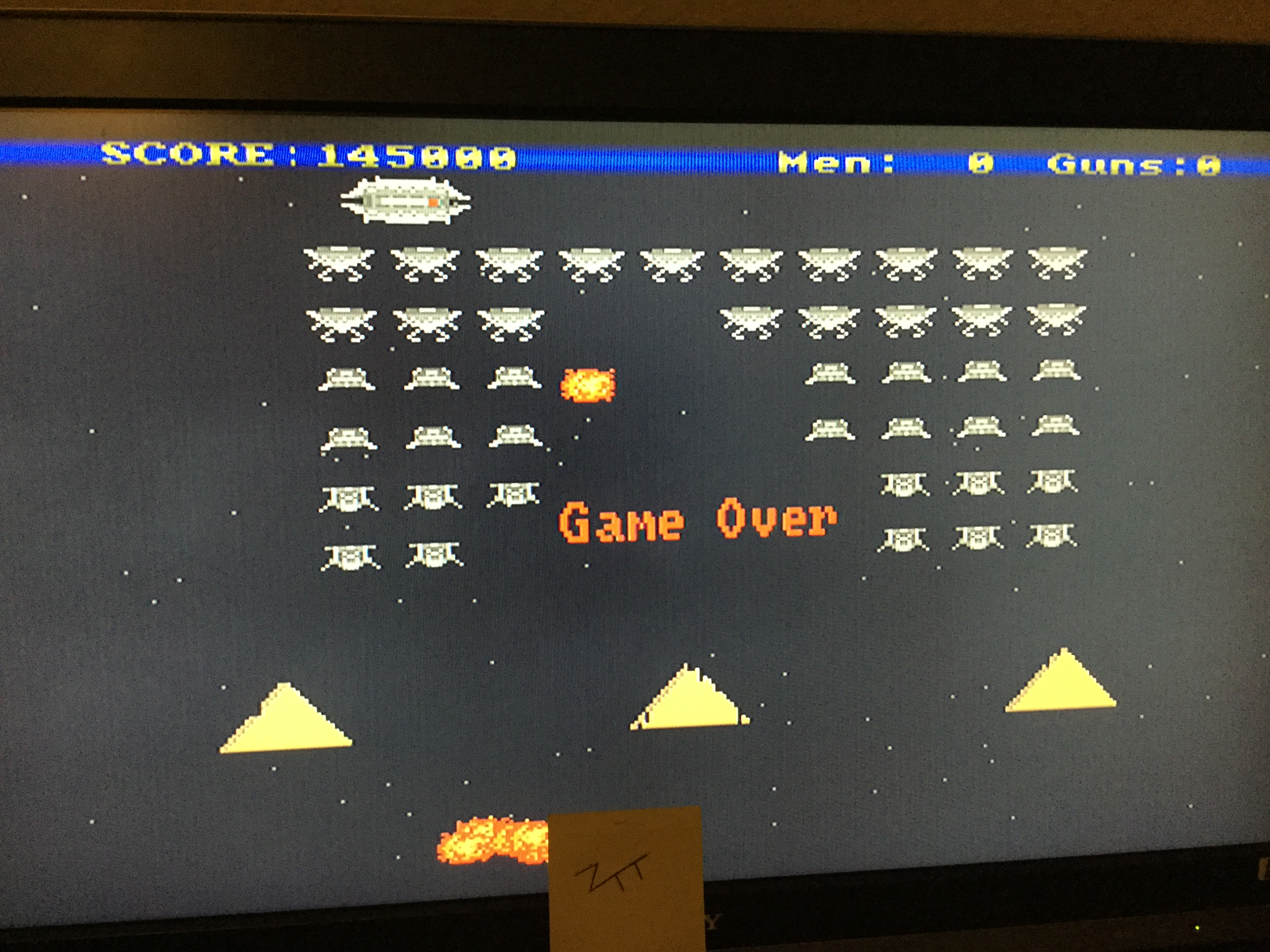 Frankie: Mr. Wobbly Leg Versus the Invaders From Space (Amiga) 145,000 points on 2017-10-27 15:05:49