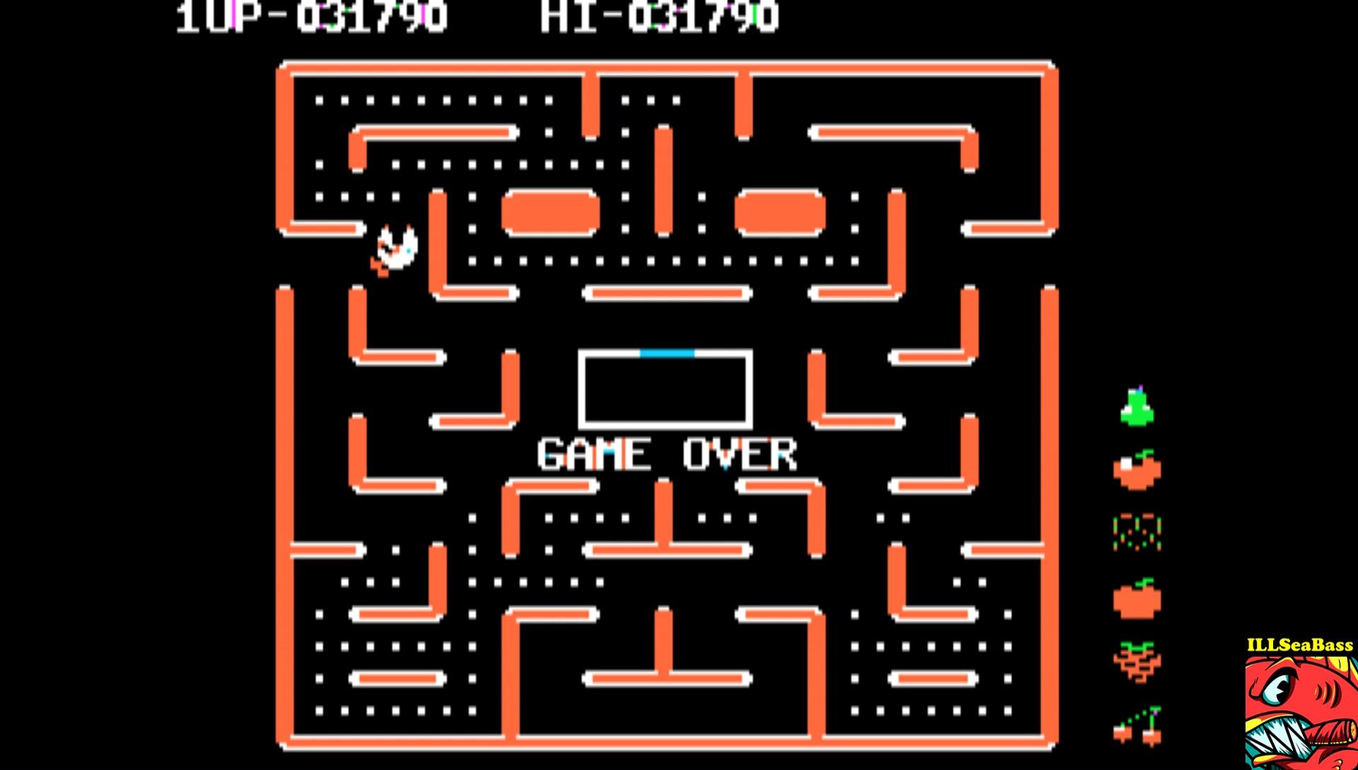 ILLSeaBass: Ms. Pac-Man (Apple II Emulated) 31,790 points on 2017-02-21 00:19:55