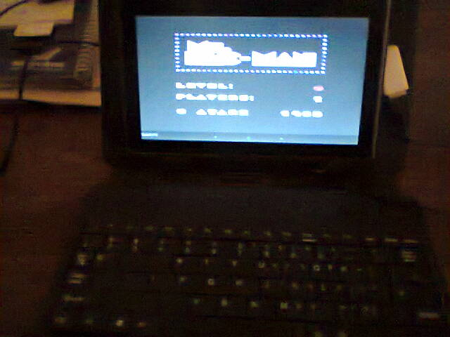 ecworiginal: Ms. Pac-Man [Apple Start] (Atari 400/800/XL/XE Emulated) 11,390 points on 2016-04-25 14:33:16