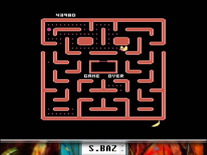 S.BAZ: Ms. Pac-Man [Apple Start] (Atari 5200 Emulated) 43,980 points on 2016-05-30 17:33:01