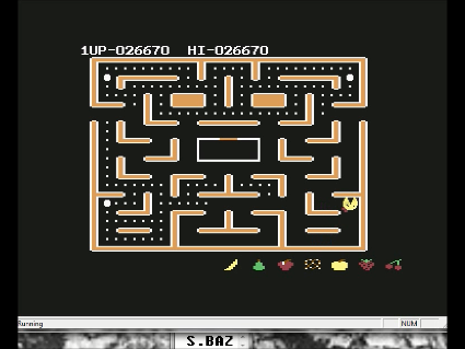 Ms. Pac-Man [Apple Start] 26,670 points