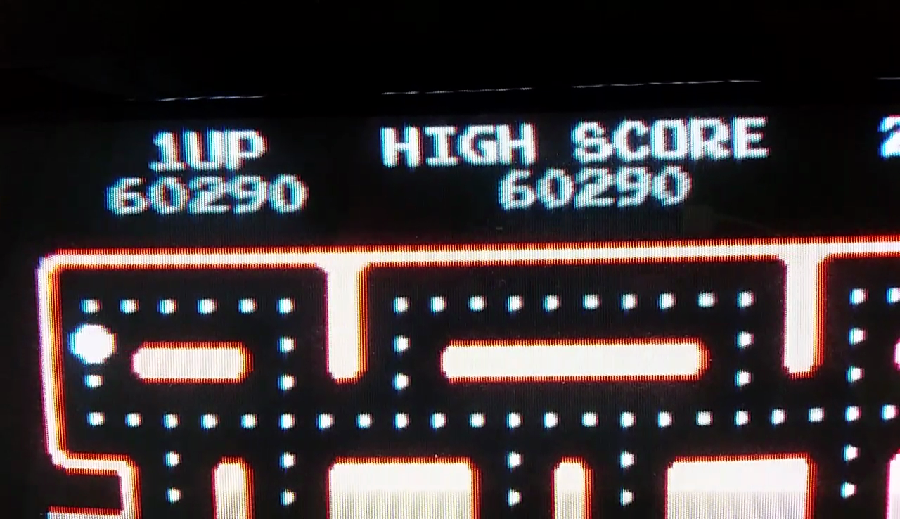 JES: Ms. Pac-Man (Arcade Emulated / M.A.M.E.) 60,290 points on 2017-04-03 23:25:54