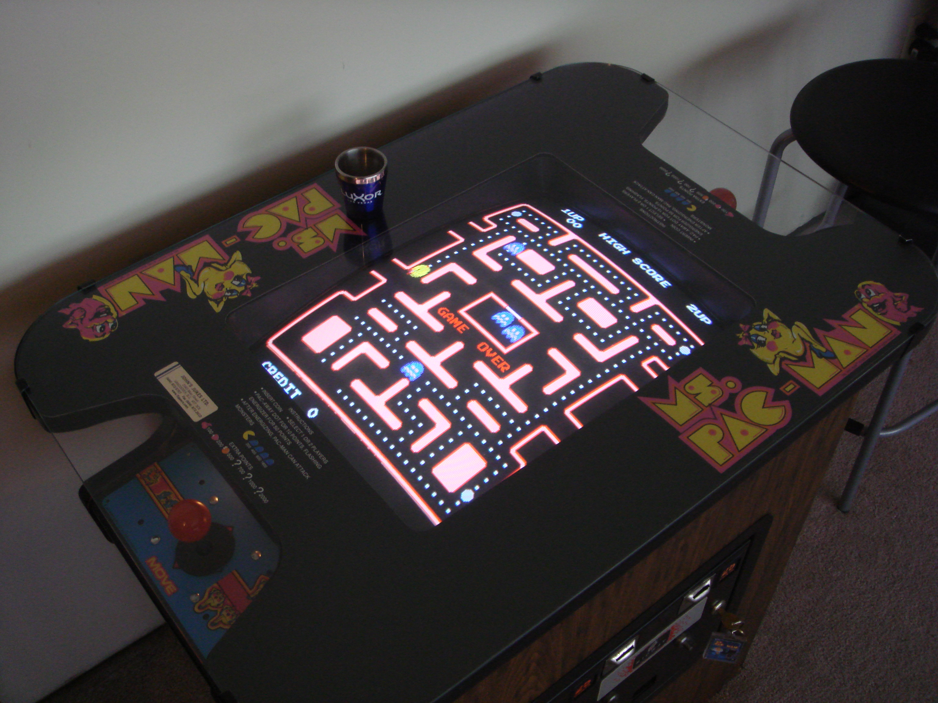 Ms. Pac-Man 123,040 points