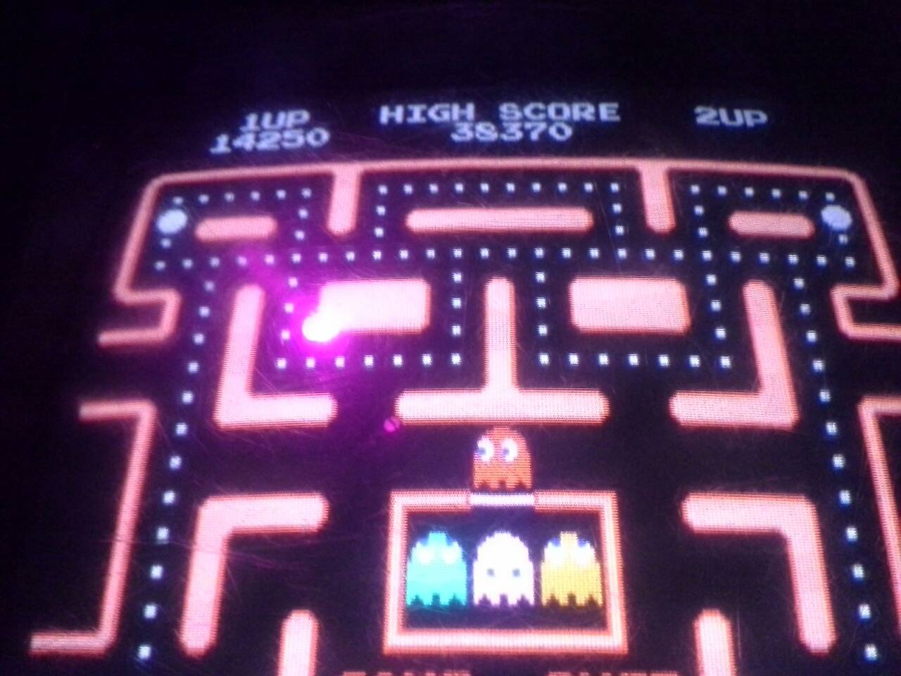 Ms. Pac-Man 14,250 points