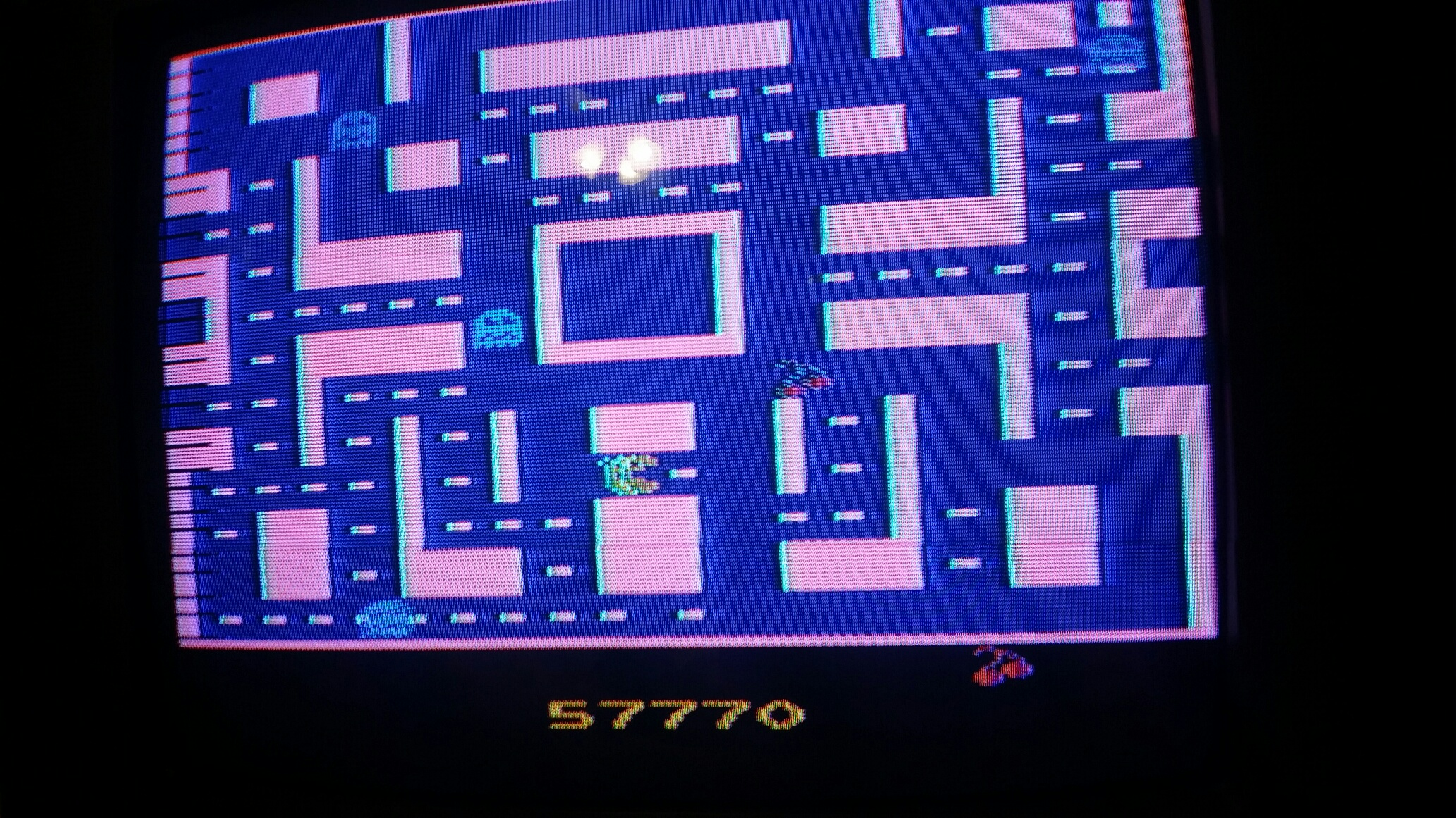 Ms. Pac-Man 57,770 points