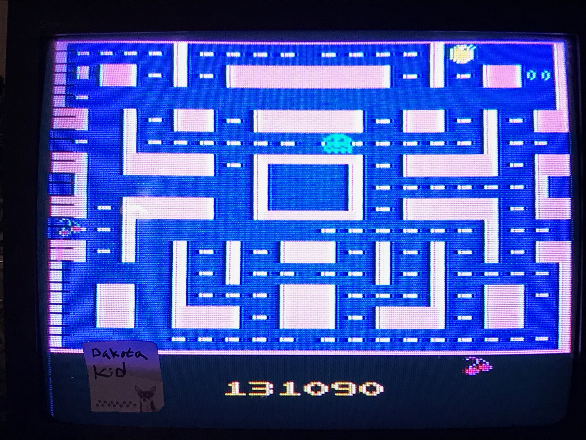 Ms. Pac-Man 131,090 points
