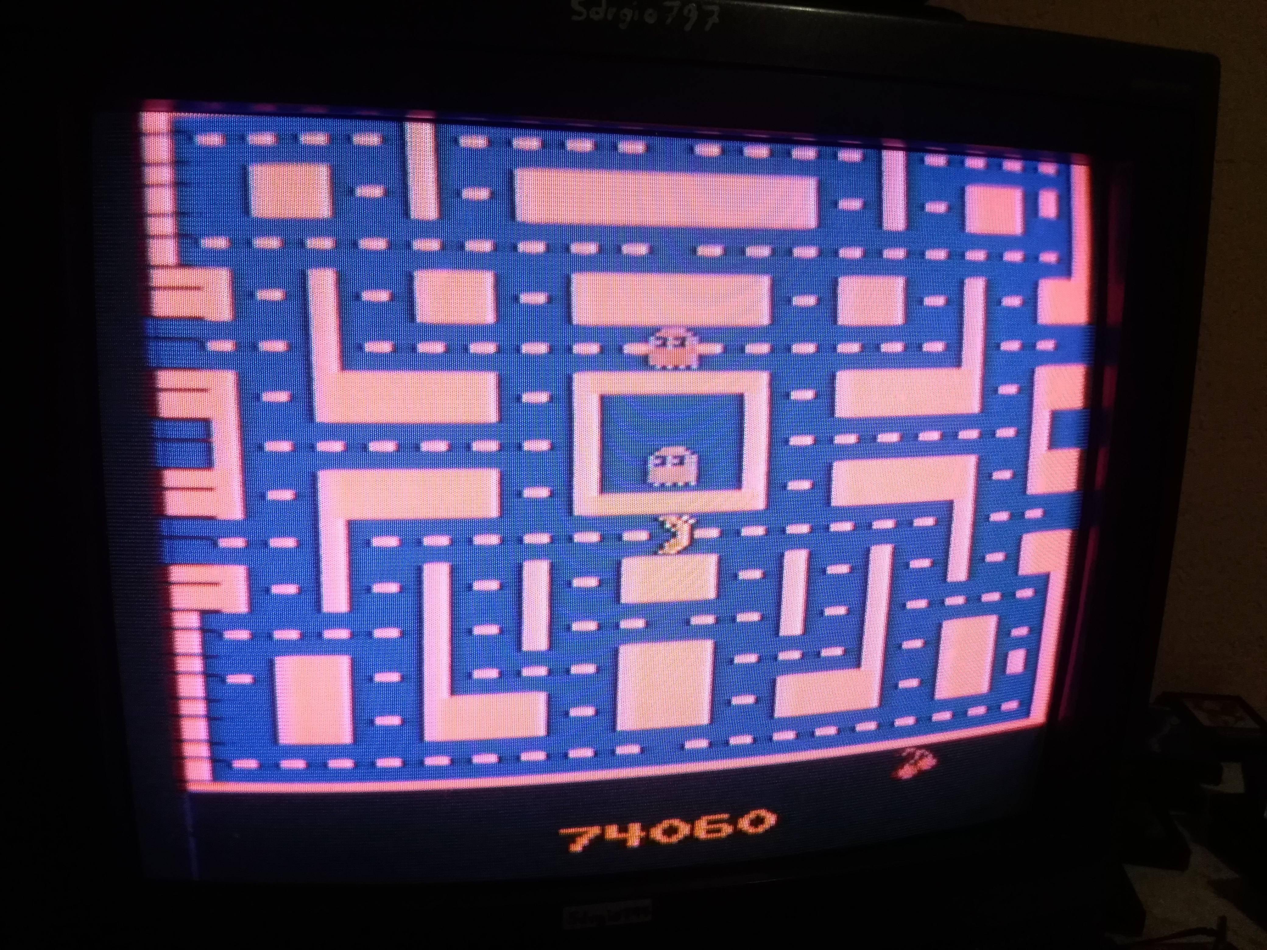 Ms. Pac-Man 74,060 points
