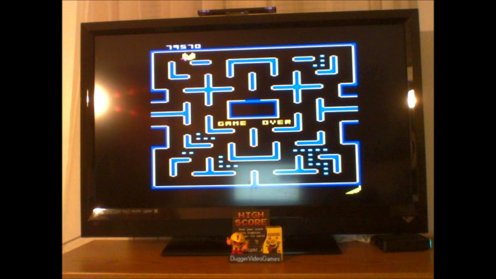 DuggerVideoGames: Ms. Pac-Man: Banana Start (Atari 7800 Emulated) 79,570 points on 2016-12-21 17:34:28
