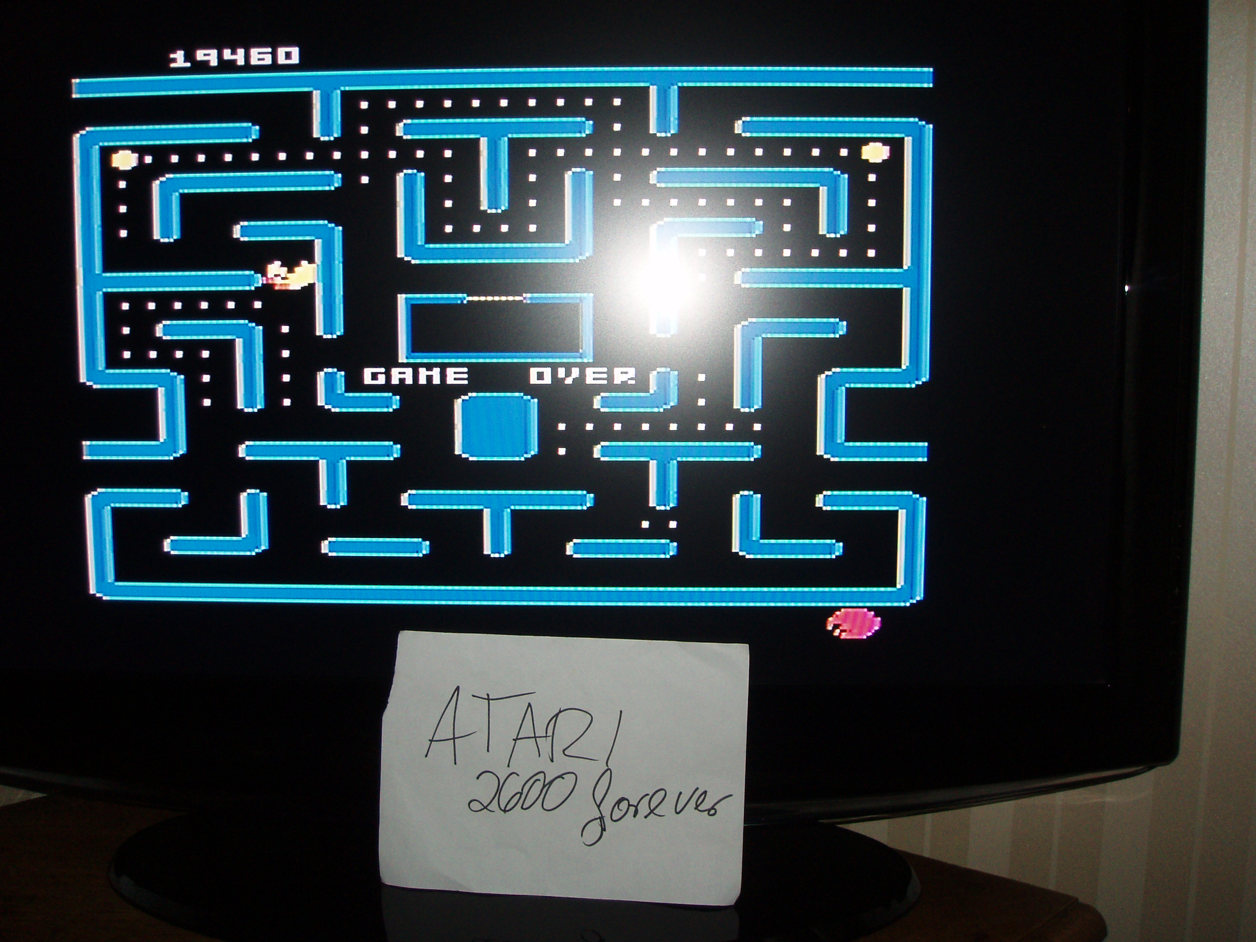 atari2600forever: Ms. Pac-Man: Cherries Start (Atari 5200) 19,460 points on 2017-11-23 04:15:39