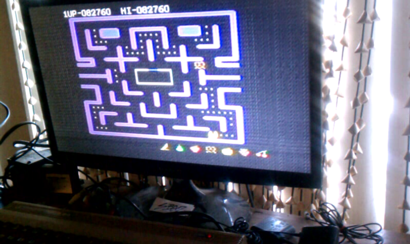 S.BAZ: Ms. Pac-Man (Commodore 64) 82,760 points on 2020-02-25 18:43:38