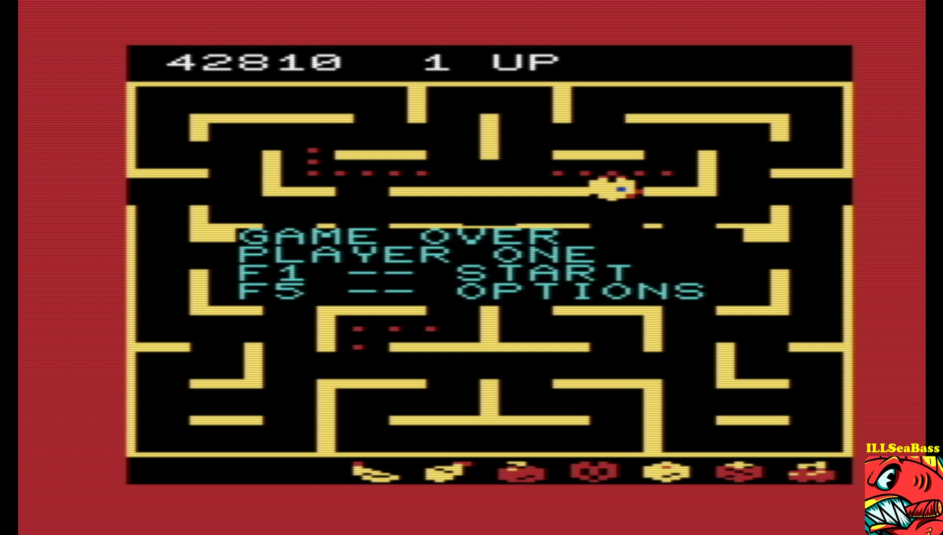 ILLSeaBass: Ms. Pac-Man (Commodore VIC-20 Emulated) 42,810 points on 2017-06-09 21:31:59