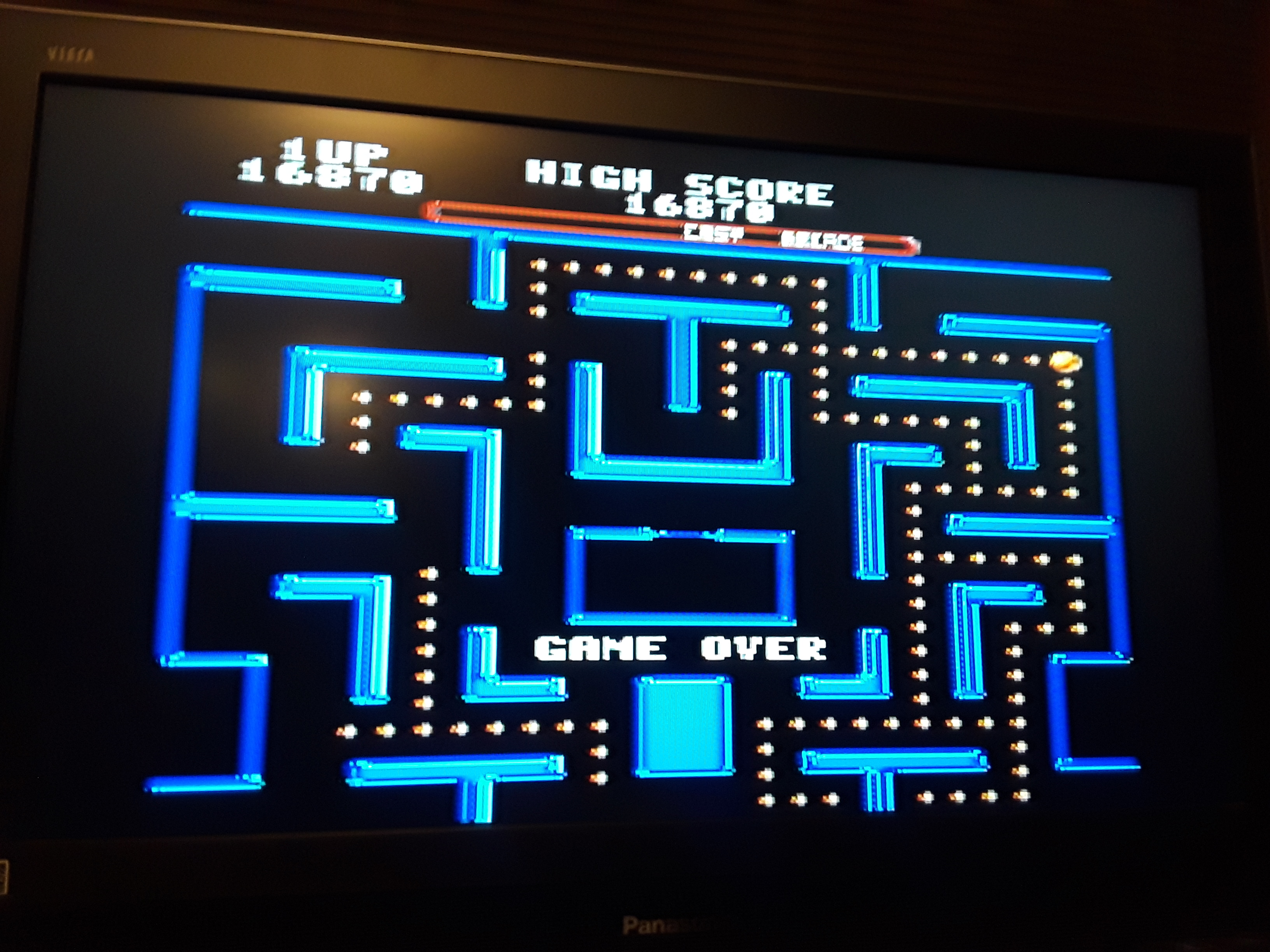Ms. Pac-Man [Easy] 16,870 points