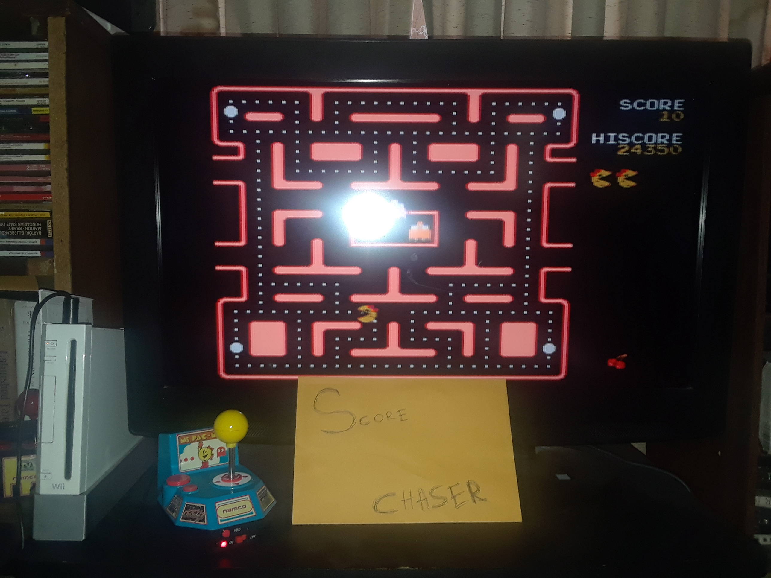Ms. Pac-Man 24,350 points