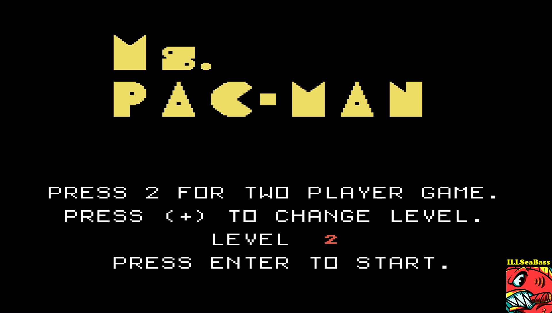 ILLSeaBass: Ms. Pac-Man [Level 2] (TI 99/4A Emulated) 48,950 points on 2017-05-06 13:51:02