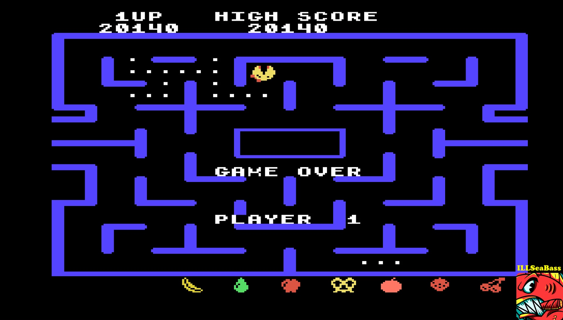 ILLSeaBass: Ms. Pac-Man [Level 9] (TI 99/4A Emulated) 20,140 points on 2017-05-06 15:23:33