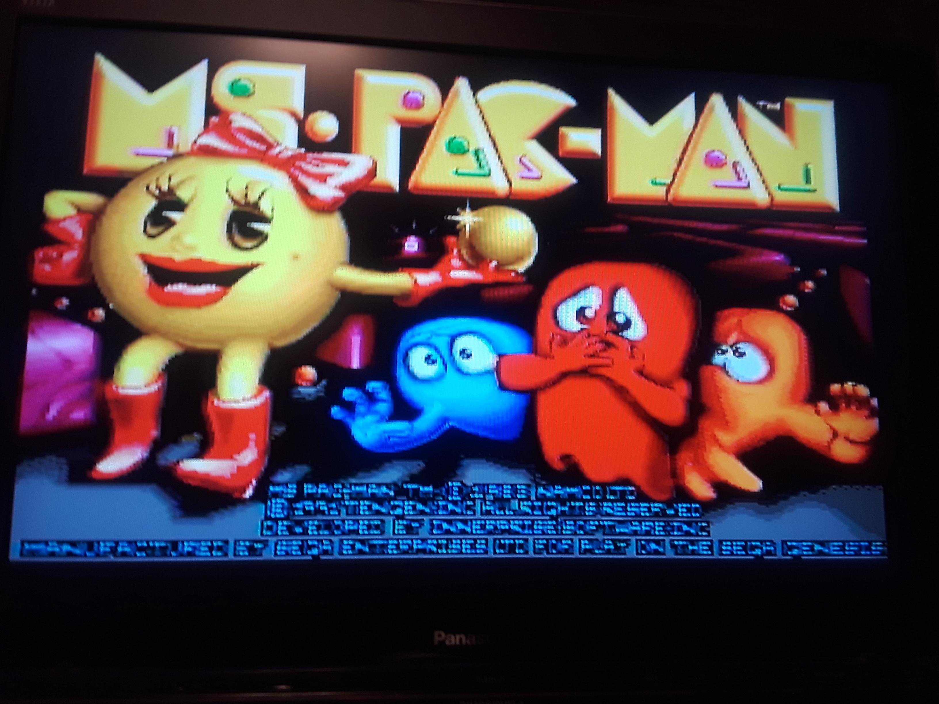 Ms. Pac-Man [On / Medium / Arcade] 35,360 points