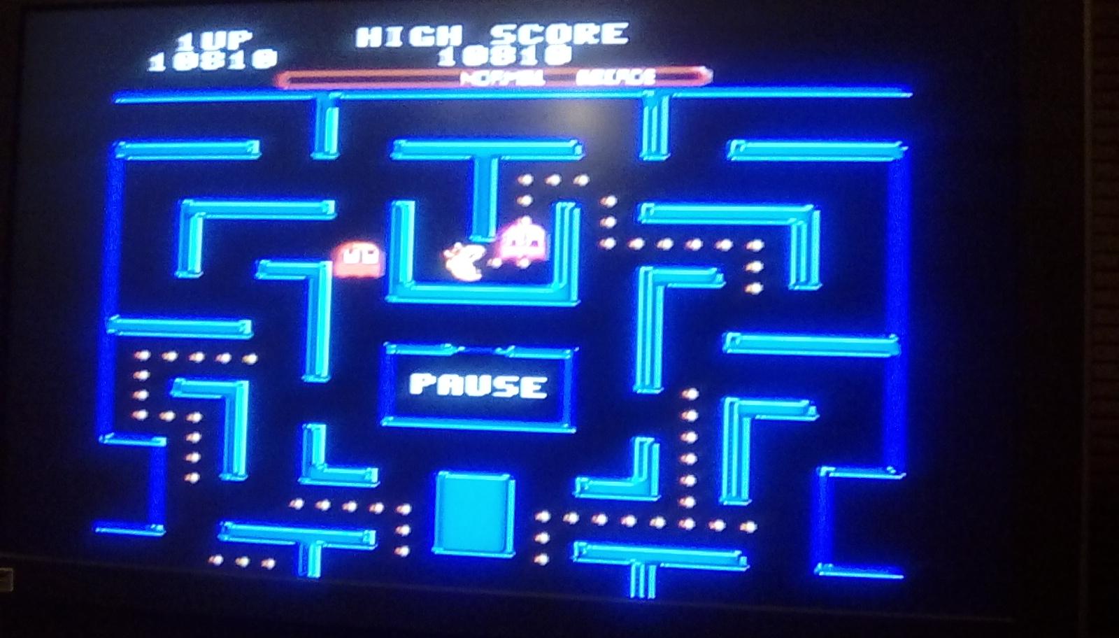 Ms. Pac-Man [Medium] 10,810 points