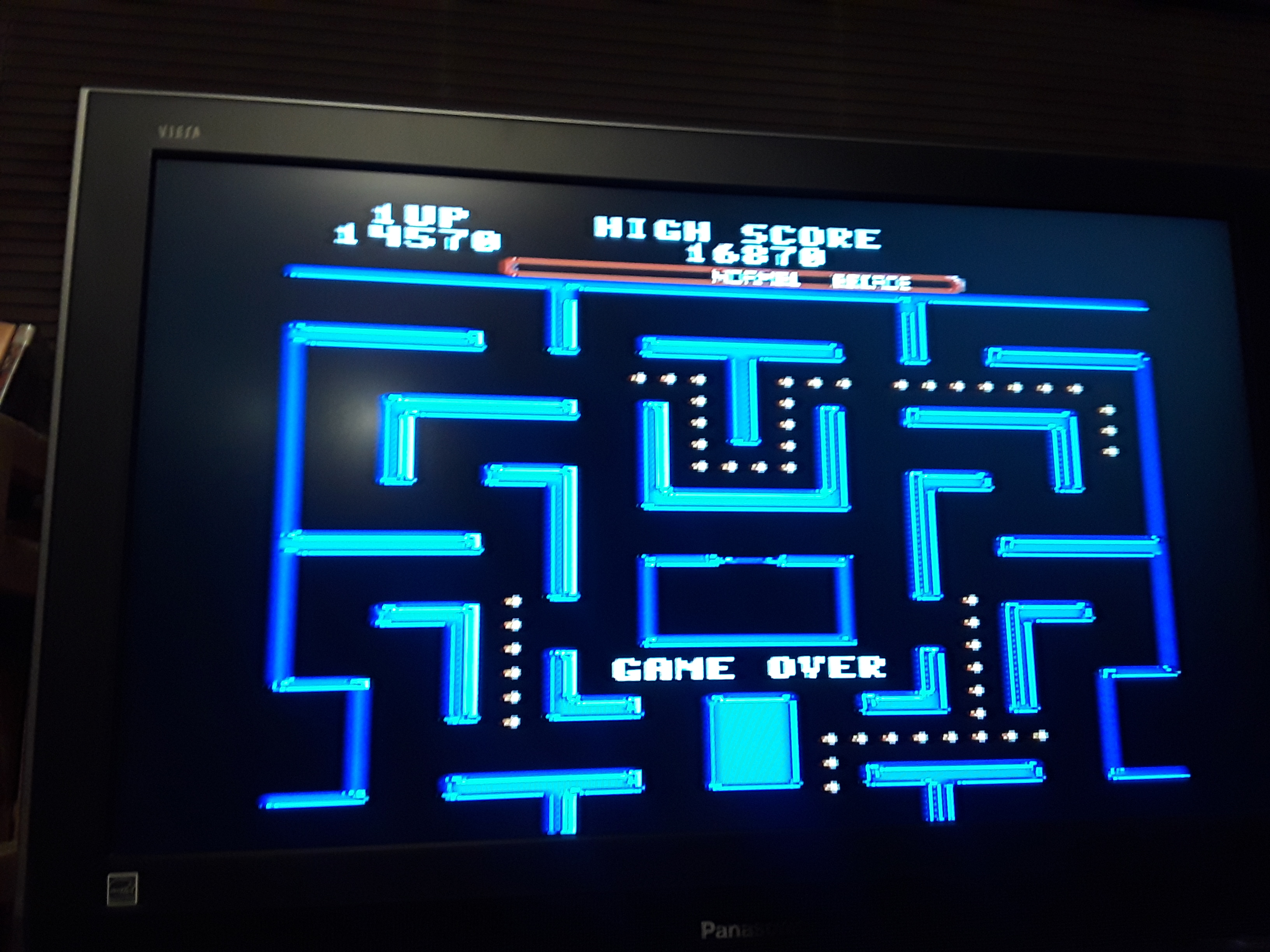 Ms. Pac-Man [Medium] 14,570 points
