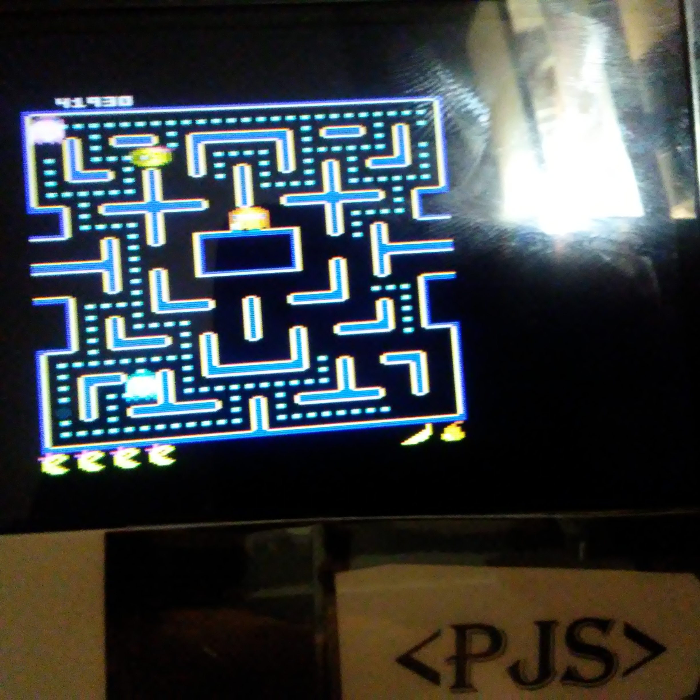 Pjsteele: Ms. Pac-Man: Pear Start (Atari 7800 Emulated) 41,930 points on 2018-06-25 19:33:38