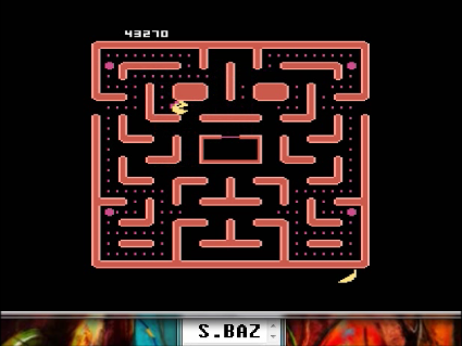 S.BAZ: Ms. Pac-Man [Pretzel Start] (Atari 5200 Emulated) 43,270 points on 2016-05-20 00:29:21